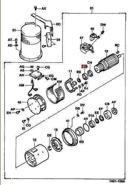 motor de traccion